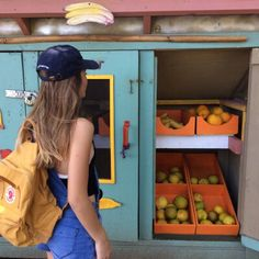 Indie - latest indie music, style and independent movies on We Heart It Francoise Gilot, Fjallraven, Home Decoracion, Fruit Stands, Looks Cool, Aesthetic Pictures, Summer Time, Beautiful, Ulzzang