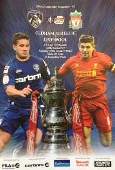 Oldham Athletic v Liverpool Manchester United Wallpaper, Football Program, English, Athletic, Vintage, Athlete, Deporte, English Language