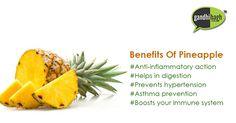 #Buy #Pineapple online at best #price in #India on Gandhibagh.com #onlineshopping #onlinestore #gandhibagh #Nagpur #fruits #Health #Heart