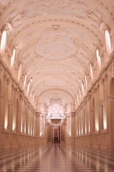 La Venaria Reale is one of the finest examples of the majesty of 17th and 18th century architecture in Regione Piemonte, Italy