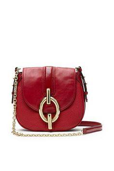 f06a0165d56e Sutra Mini Leather Crossbody Bag In Classic Red Beautiful Handbags