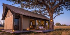 Photos - This adventurous walking safari allows guests to get a real feel for Africa by getting their feet on the ground for a genuine trail experience. Africa Travel, Us Travel, Cabin Ideas, Gazebo, Safari, Trail, Shed, Wildlife, Traveling