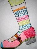 Artsonia Art Gallery :: Sock Line Design