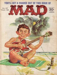MAD Magazine No. 97, September 1965 - cover