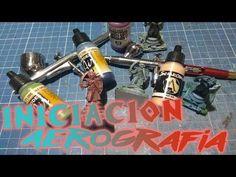 Iniciacion Aerografia Facil / Pintando Estatuas Parte 1 - YouTube Vacuums, Tips, Youtube, Painting, Statues, Miniatures, Drawings, Painting Art
