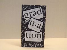 Graduation premade waterfall folio mini album by CreationsbySweet