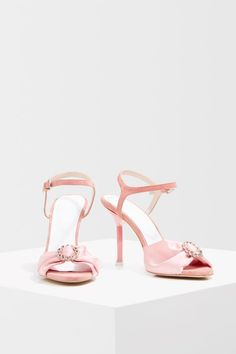 Add a dash of pink to your look with these ankle strap sandals Ankle Strap Sandals, Shoes Sandals, Heels, Topshop Unique, Weekend Wear, Pink Fashion, Pink Color, Asos, My Style