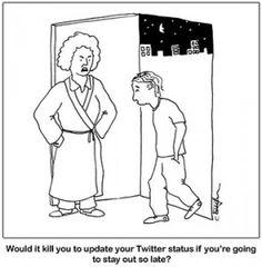 Parents, social media, and curfew.