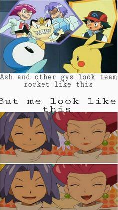 Pokemon Funny, Pokemon Memes, Pokemon Team Leaders, Equipe Rocket, Team Rocket, Catch Em All, Jessie, Tangled, Ems