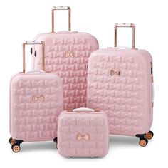 52a17ccaf Image result for ted baker pink luggage Pink Suitcase