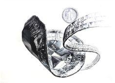 기초디자인 소재 연습! 은박접시 개체묘사 (김포미술학원/장기동미술학원) : 네이버 블로그