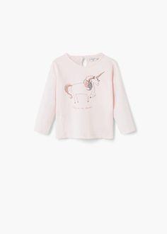 T-shirt algodão imagem -  Criança | MANGO Kids Portugal
