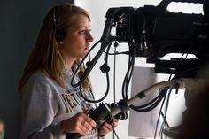 Broadcast Journalism Student
