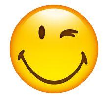 Happy winking Smiley