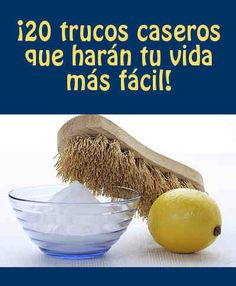 Trucos caseros Cleaning Solutions, Cleaning Hacks, Limpieza Natural, Clean House, Helpful Hints, Tips, Life Hacks, Sweet Home, How To Make
