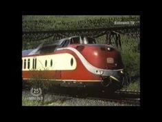 Im Trans Europa Express (TEE-Zug) über die Wutachtalbahn VT 11.5 Kraftwerk