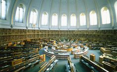 """The """"old"""" Round Reading Room in the British Museum"""
