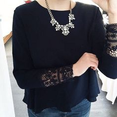 Glam And Glitter Statement Necklace #fashion #style #outit #clear #statementnecklace - 24,90 � @happinessboutique.com