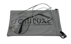 ab89f7fbdfd7 Amazon.com  So In Luxe Aviator Retro Fashion Glasses Clear Lens Oversized  (X-Large