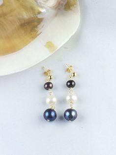 Beautiful Pearls Earrings Pearl Earrings, Collections, Pearls, Beautiful, Jewelry, Pearl Studs, Jewlery, Jewerly, Beads