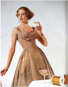 Horrockses dress, 1950's