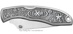 Texas+Pocket+Knife+by+Heritage+Pewter