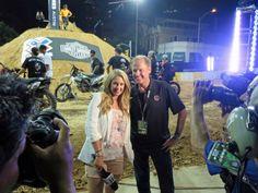 ESPN's #NicoleBriscoe interviews Rusty Wallace on #ESPN Colleague