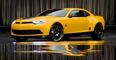 Bumblebees new Chevrolet Camaro concept