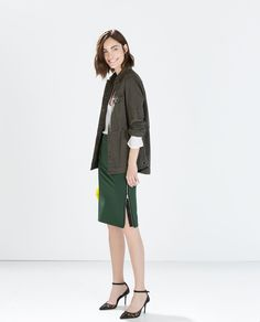 Pin for Later: You Probably Don't Need Us to Tell You That You Need an Army Jacket Zara Parka Zara Combat Parka ($100)
