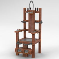 model: This is a model of an Electric Chair. Execution by electrocution, usually performed using an electric chair, is an execution method .
