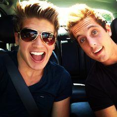 Joey Graceffa and Sawyer Hartman