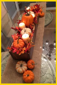 47 Easy Diy Fall Centerpiece Ideas For Your Home Decor Diy Fall Crafts diy fall projects Wooden Centerpieces, Simple Centerpieces, Wedding Centerpieces, Fall Centerpiece Ideas, Thanksgiving Diy, Thanksgiving Decorations, Harvest Decorations, Fall Church Decorations, Halloween Decorations