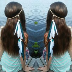 Turquoise feather love!  Missing our Florida photoshoot on this cold morning.  You can find this feather head band and many others in my etsy shop  WWW. DIESELBOUTIQUE. ETSY. COM  #Boho #seagypsy #turquoise #Featherheadband #Headband #pocahontas #freespirit #coachella #gypsylife #festivalfashion #costume #gypsy #bohemian #bohochic #tribal #festival #bohemia #ocean #dock #etsy #larp #wanderlust #goodvibes #highsociety #mermaid #florida #hipster #hippie