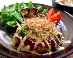 このみ's dish photo 今日の晩ご飯☆お好み焼き風ハンバーグ(^^) #SnapDish #レシピ
