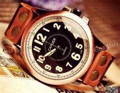 Men's Wristwatch Leather Watches Wo..