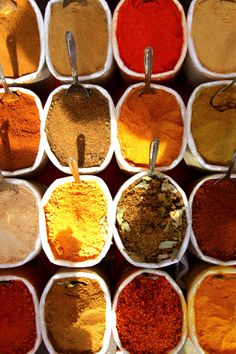 """Indian spices are a bit like life in India. The right combination gives you a harmony of flavours — a delicate balance that is the Indian culture with its multitude of religions, languages and cuisines — a bit like how the spoons are arranged. But when you get it wrong — things can go really really wrong — it's like a bad Bollywood film!     — By Nitin Gajria (from """"Open Theme"""")     Submit now to Pictory's Open Themes"""