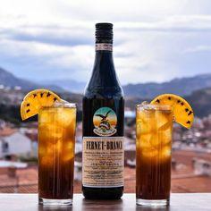 Follow the The Black Rabbit - ¾ oz Fernet Branca - ¾ oz Gin - ¾ oz Orange Juice - ½ oz Lemon Juice - ¾ oz Maple Syrup