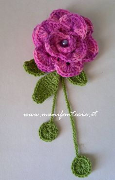 rose uncinetto tutorial