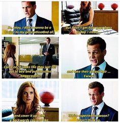Harvey Specter does clueless