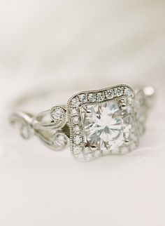 Unique Engagement Ring Trends In 2017 That You'll Love! Engagement Rings Sale, Vintage Inspired Engagement Rings, Engagement Ring Buying Guide, Traditional Engagement Rings, Modern Engagement Rings, Cushion Cut Engagement Ring, Rose Gold Engagement Ring, Solitaire Engagement, Cool Wedding Rings