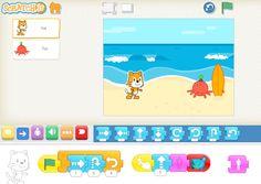 ScratchJr erweitert die bekannte Programmierumgebung Scratch um ein weiteres Produkt, das speziell für den Einstieg ins Programmieren ganz junger Kinder gedacht ist. Betreits 5- bis 7jährige können mit ScratchJr erste Erfahrungen mit dem Programmieren machen.