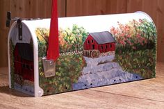 hand painted mailboxes | ... Mailbox,Decorated mailboxes,handpainted Mailboxes,Decorated mailbox