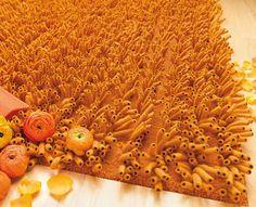 Awesome orange rug!