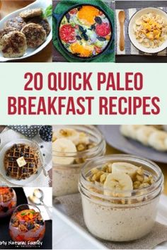25 Quick Paleo Breakfast Ideas