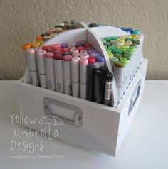 Yellow Umbrella Designs: Copic Storage