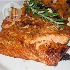 Ginger and Orange Salmon @ allrecipes.co.uk