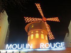 Le fameaux Moulin Rouge