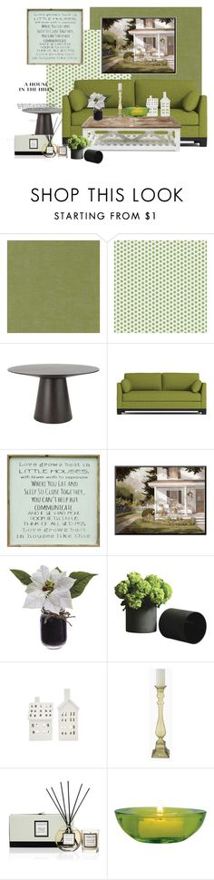 """""""green"""" by explorer-14472255834 on Polyvore featuring interior, interiors, interior design, home, home decor, interior decorating, Designers Guild, York Wallcoverings, Dot & Bo and Pink Marmalade"""