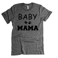 4080eb10 New Mother Gift. BABY Mama Tee. Baby Shower Gift. Funny Prego Pregnant Mom