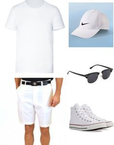 Outfit of the Day: Athletic Whites  Created with Mod Man by Cameron Crawford
